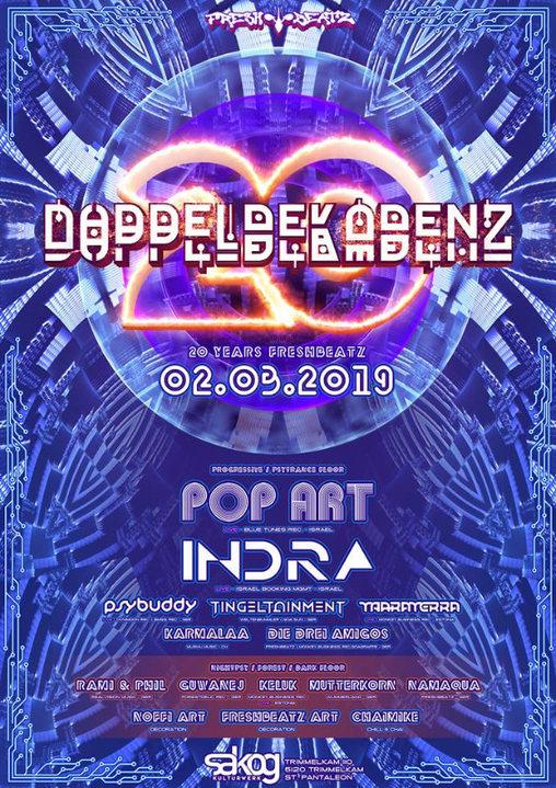 Party Flyer Doppeldekadenz 2 Mar '19, 22:00
