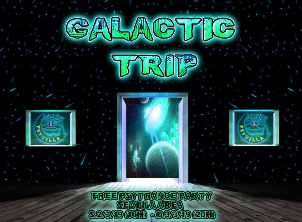 Party Flyer Galactic Trip 2 Mar '19, 16:00