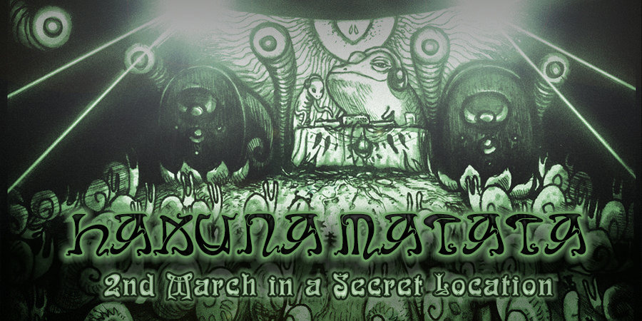 Party Flyer HaKuNa MaTaTa CXII ૐ PsyTrance, Progressive & Chill Out 2 Mar '19, 22:00