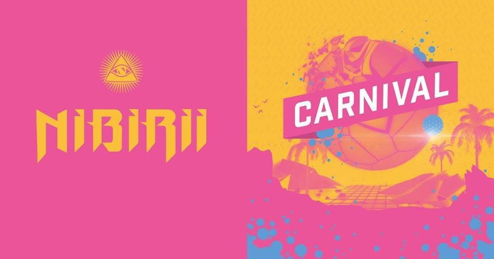 Party Flyer Nibirii Carnival w/ Captain Hook (Goa / Techno) 2 Mar '19, 15:00