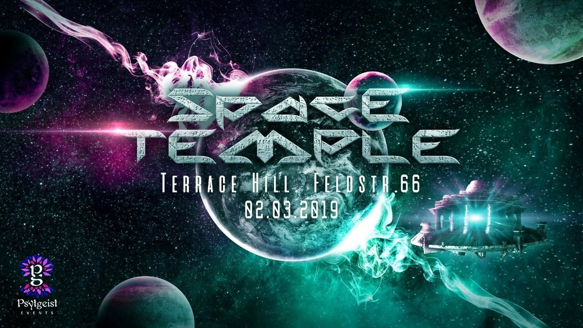 Party Flyer Space Temple 2 Mar '19, 23:00