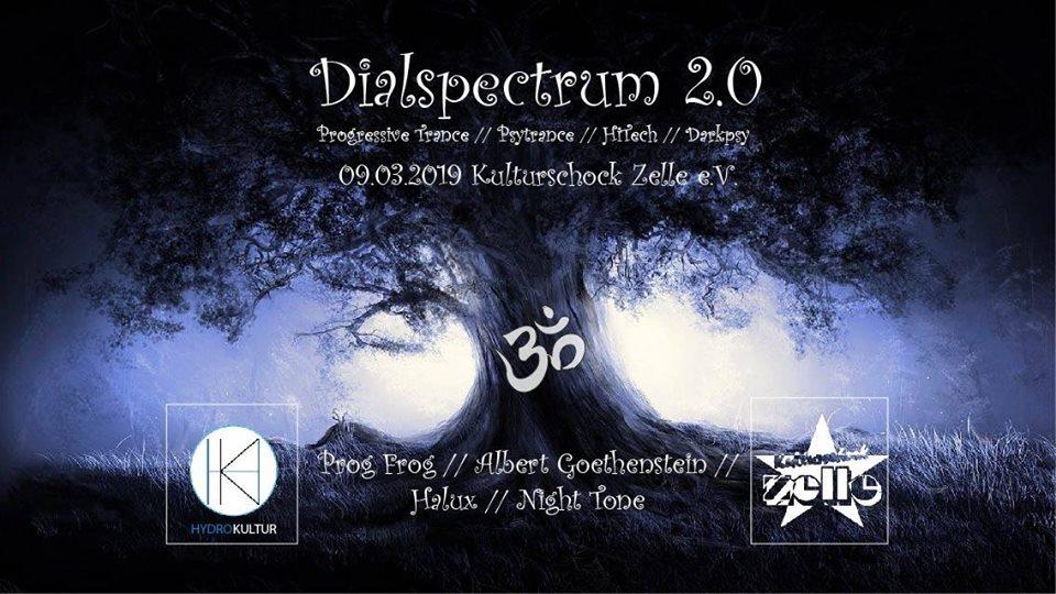 Party Flyer Dialspectrum 2.0 9 Mar '19, 22:00