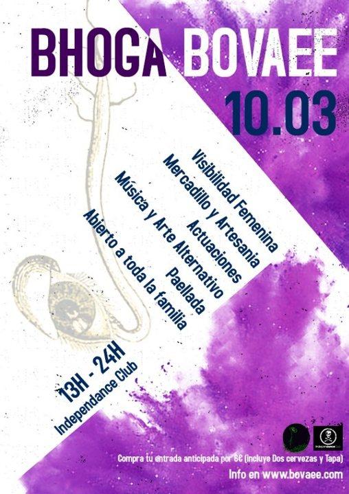 Party Flyer BHOGA BOVAEE 10 Mar '19, 13:00