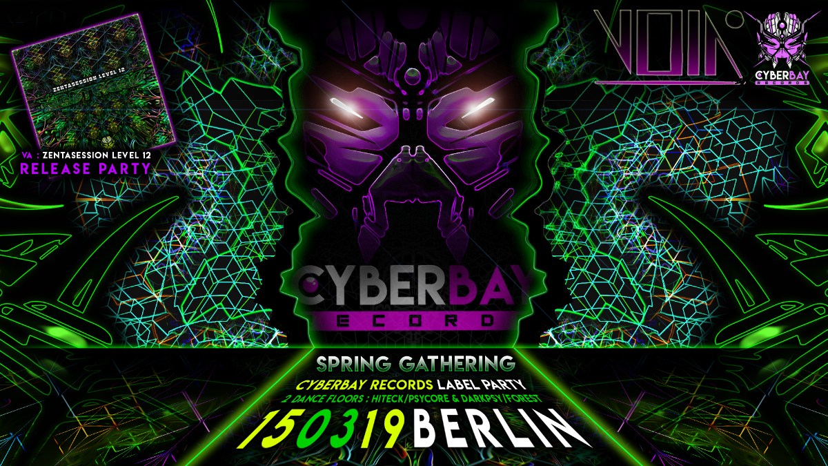 Party Flyer CyberBay - Spring Gathering 15 Mar '19, 23:00
