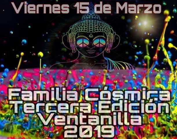 Party Flyer FAMILIA COSMICA 3a EDICION 15 Mar '19, 20:00