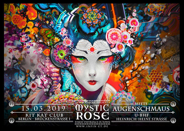Party Flyer The Mystic Rose meets Augenschmaus 15 Mar '19, 23:00