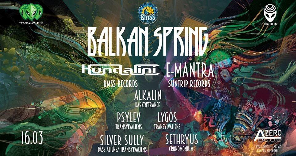 Party Flyer Balkan Spring 2019 16 Mar '19, 22:00