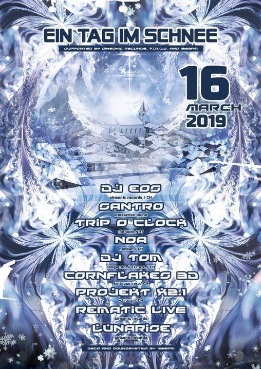 Party Flyer Ein Tag im Schnee 16 Mar '19, 09:00
