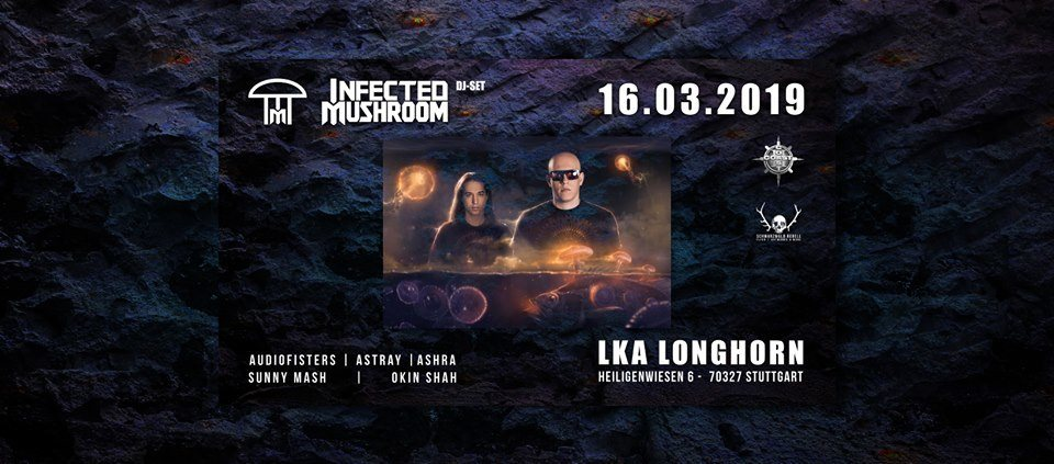 ૐ Evolution Events feat. Infected Mushroom 16 Mar '19, 21:30