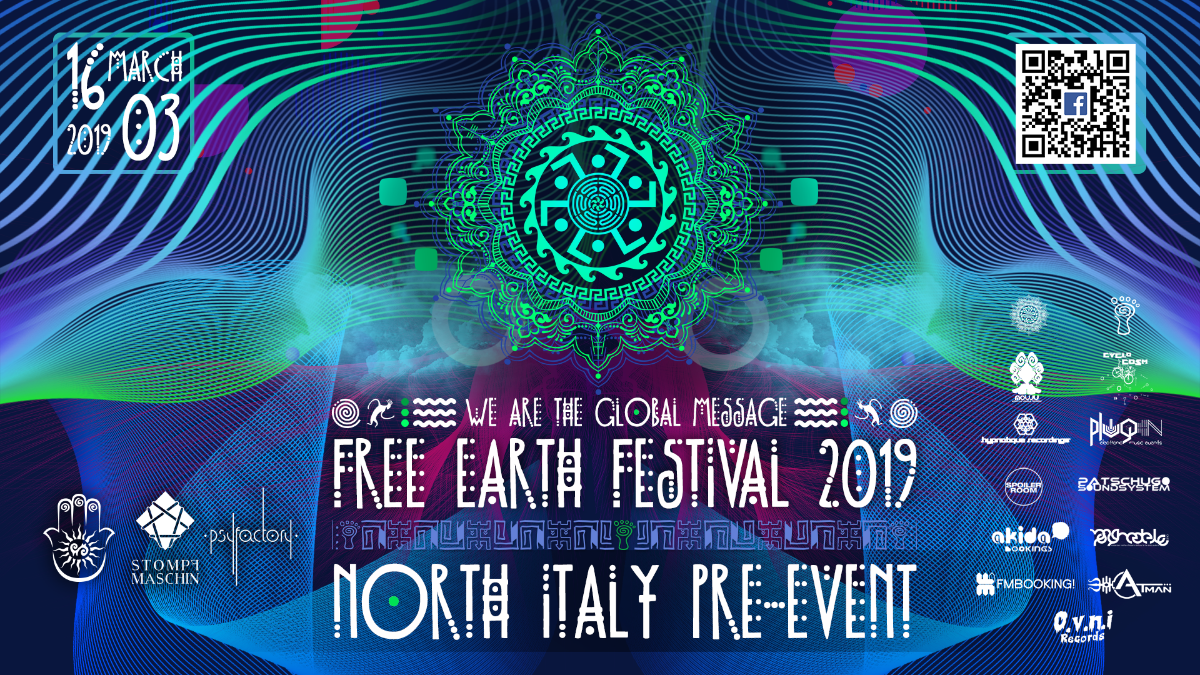 Free Earth Festival Pre-Event (Indoor Festival) 16 Mar '19, 13:00