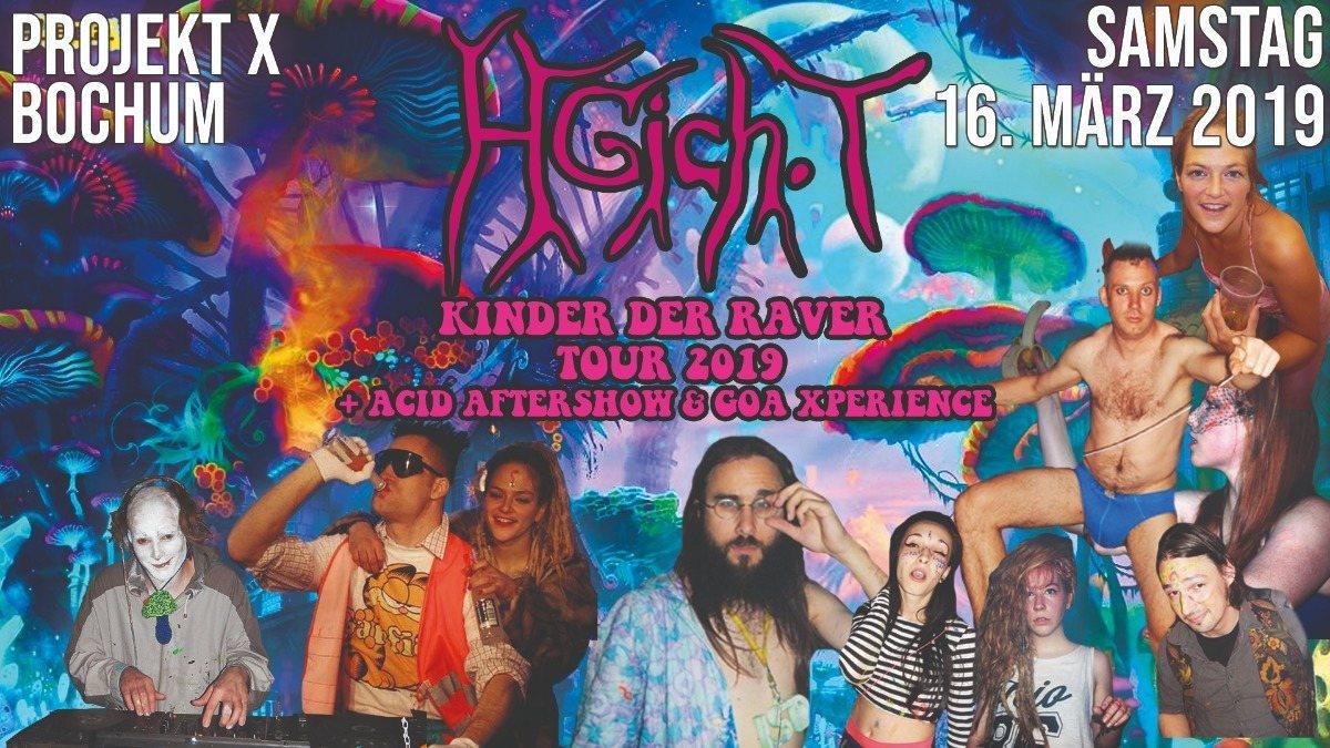 HGich.T Live + Acid Aftershow Party / Bochum Goa Xperience 2019 16 Mar '19, 21:00