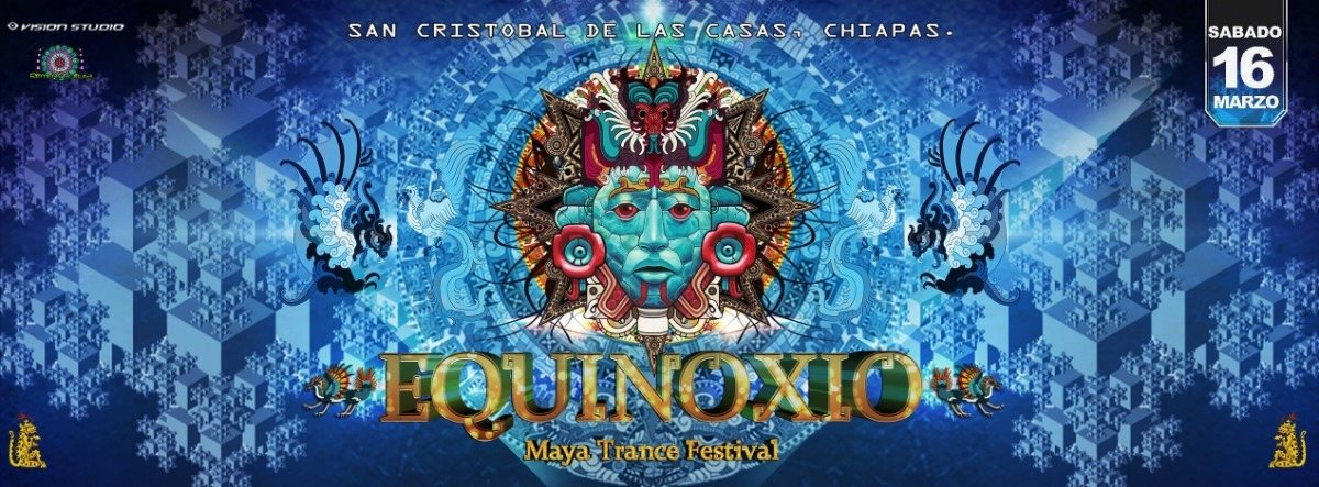 Party Flyer MAYA TRANCE FEST 2019 - EQUINOXIO 16 Mar '19, 22:00