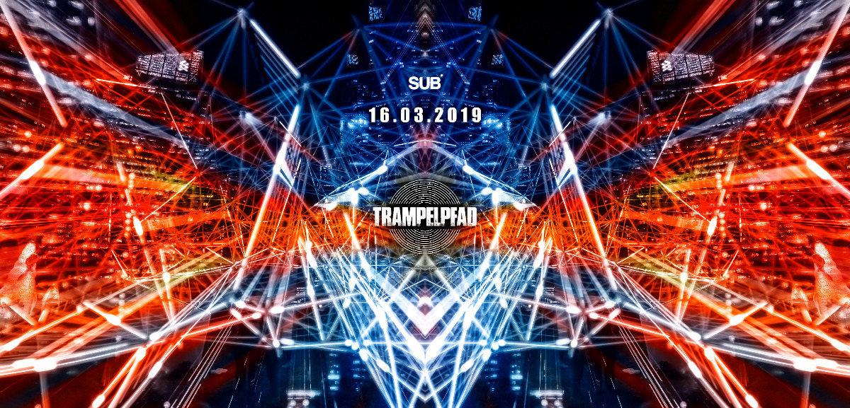 Party Flyer ▷Trampelpfad◁ mit Tommi (Pixan Rec.) Italy 16 Mar '19, 23:00