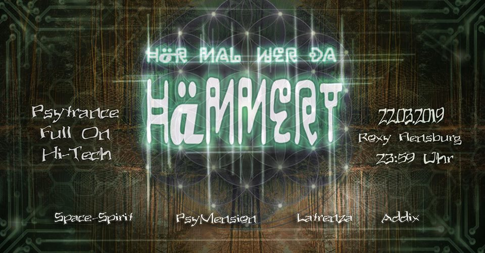 Party Flyer Goa ''Hör mal wer da Hämmert'' 22 Mar '19, 23:30