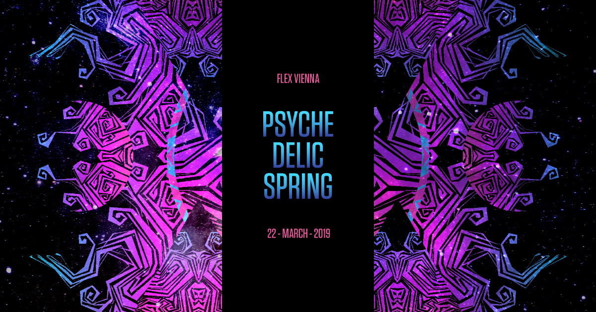Party Flyer PSYCHEDELIC SPRING 22 Mar '19, 23:00