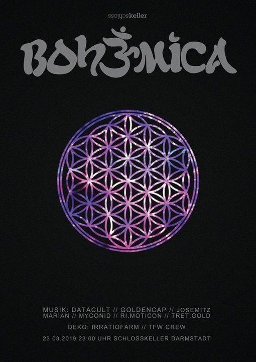 Party Flyer BOHEMICA 23 Mar '19, 23:00