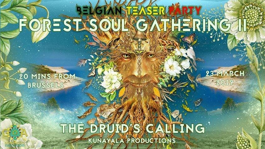 Party Flyer Forest Soul Gathering: Belgian Teaser Party 23 Mar '19, 20:00