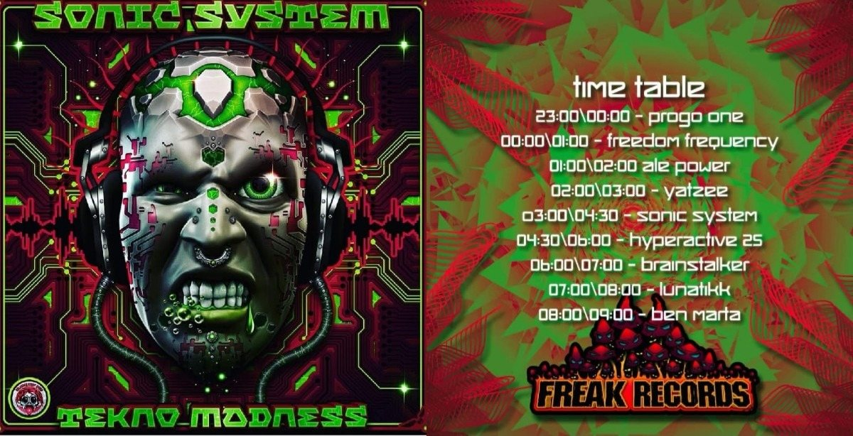 Party Flyer Lethal Madness Party (Sonic System B-day) 23 Mar '19, 23:00