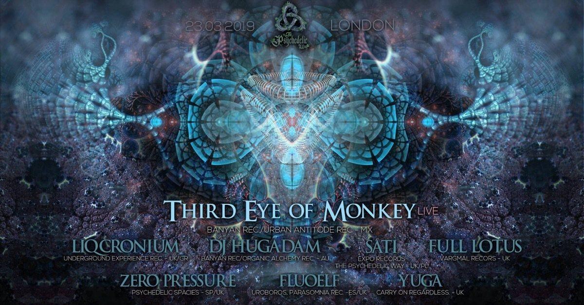 The Psychedelic Way 23 Mar '19, 23:30
