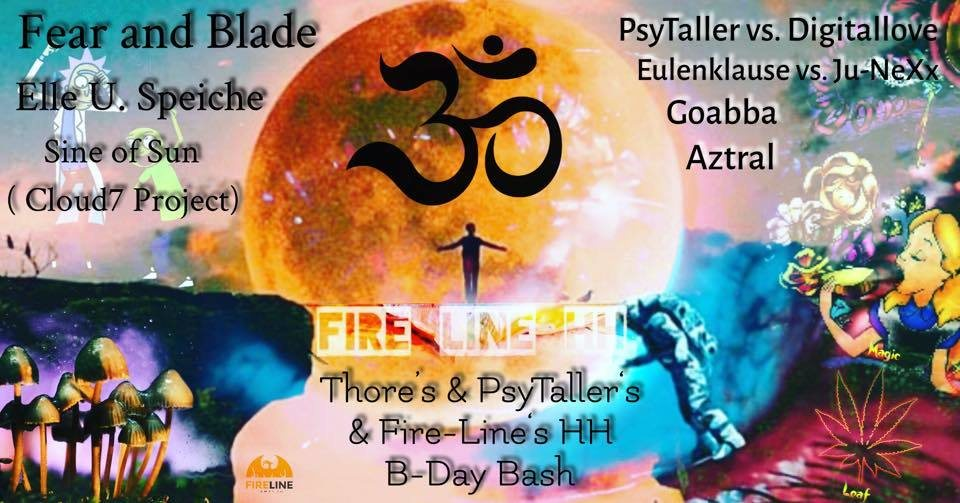 Party Flyer Fire-Line HH Gathering 1.0 29 Mar '19, 21:00