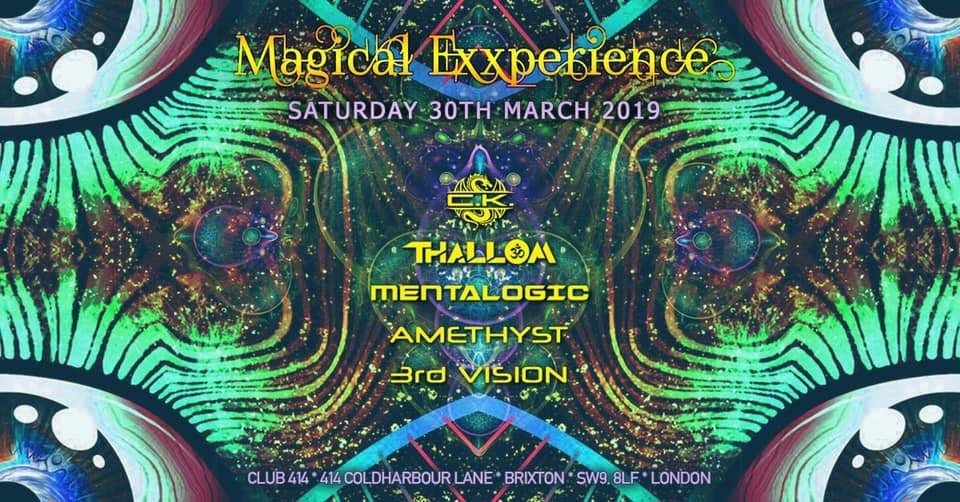 Party Flyer Magical Exxperience 30 Mar '19, 23:00