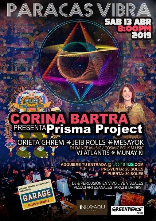 Party Flyer PARACAS VIBRA 30 Mar '19, 20:00