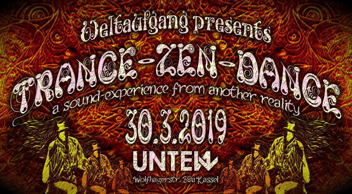 Party Flyer TRANCE-ZEN-DANCE 30 Mar '19, 23:00