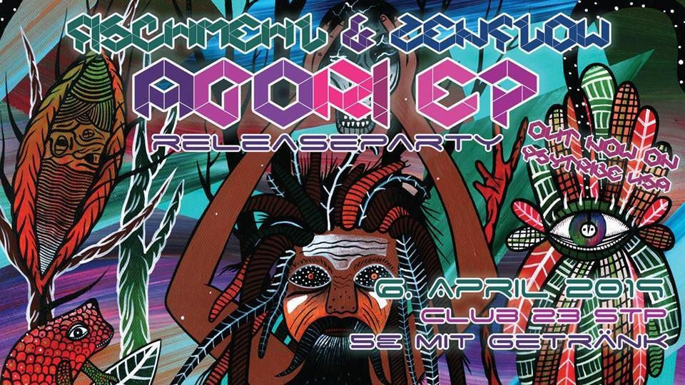 Party Flyer AGORI EP Releaseparty 6 Apr '19, 22:00