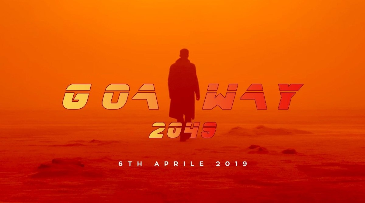 Party Flyer Goa Way::2049 6 Apr '19, 23:00