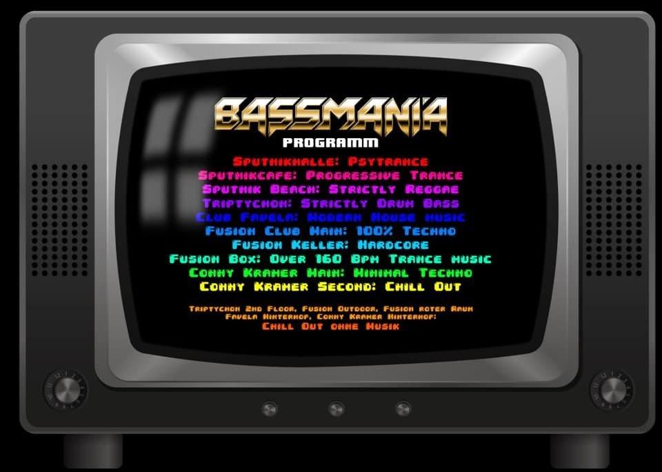 10 Jahre Bassmania 12 Apr '19, 23:00