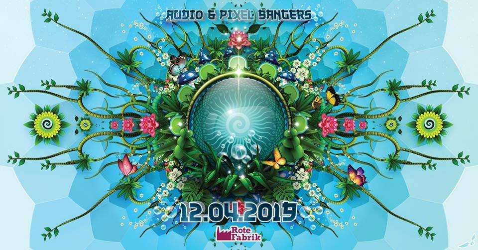 Party Flyer Audio & Pixel Bangers Spring Edition 12 Apr '19, 23:00