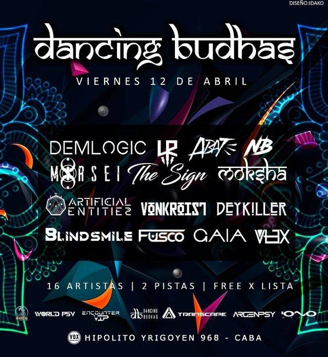 Dancing Budhas 12 Apr '19, 23:30