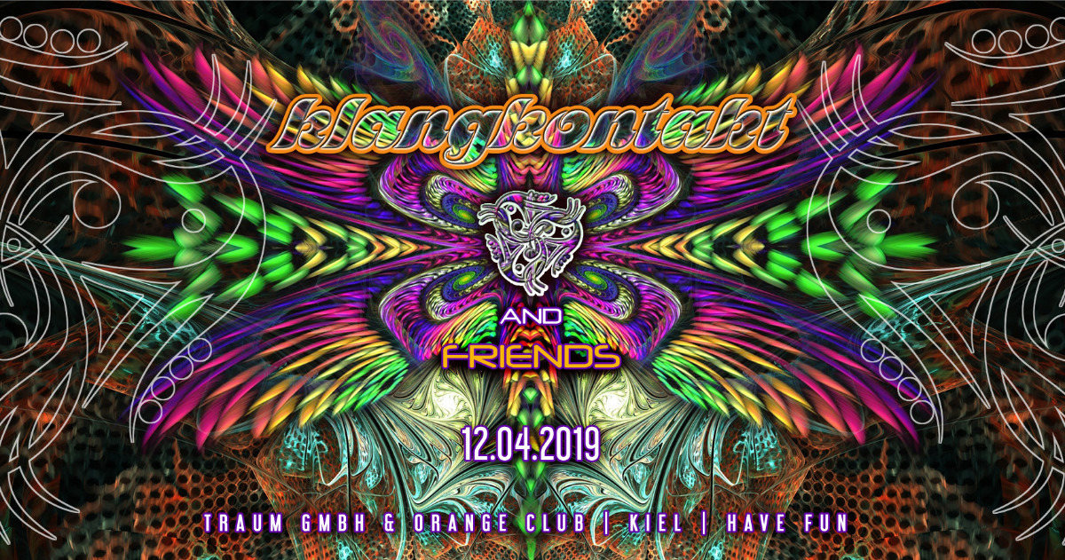 Party Flyer Klangkontakt & Friends 12 Apr '19, 23:00