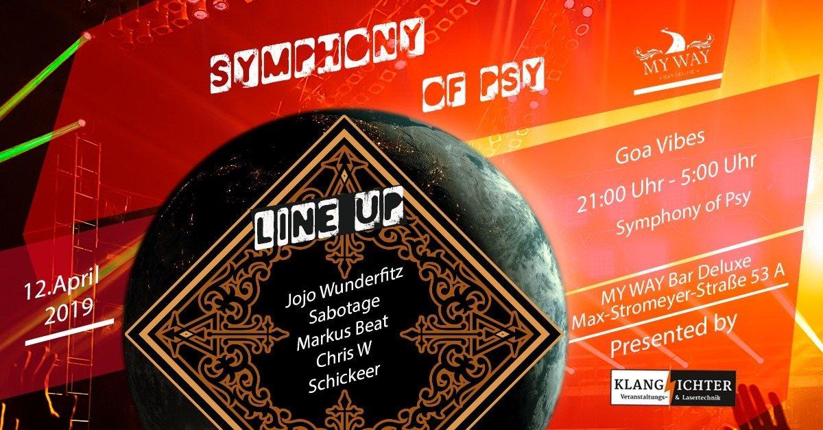Party Flyer Symphony of PSY 12 Apr '19, 22:00