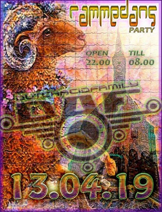 Party Flyer DAF Party Rammendans 13 Apr '19, 22:00