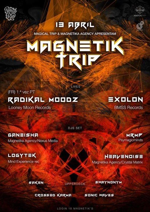 Party Flyer Magnetik Trip 13 Apr '19, 23:30