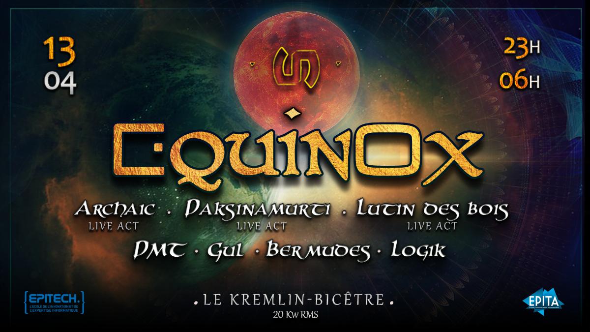 Party Flyer Omkara : Equinox 13 Apr '19, 23:00