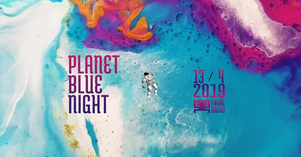 Party Flyer Planet Blue Night 13 Apr '19, 21:00