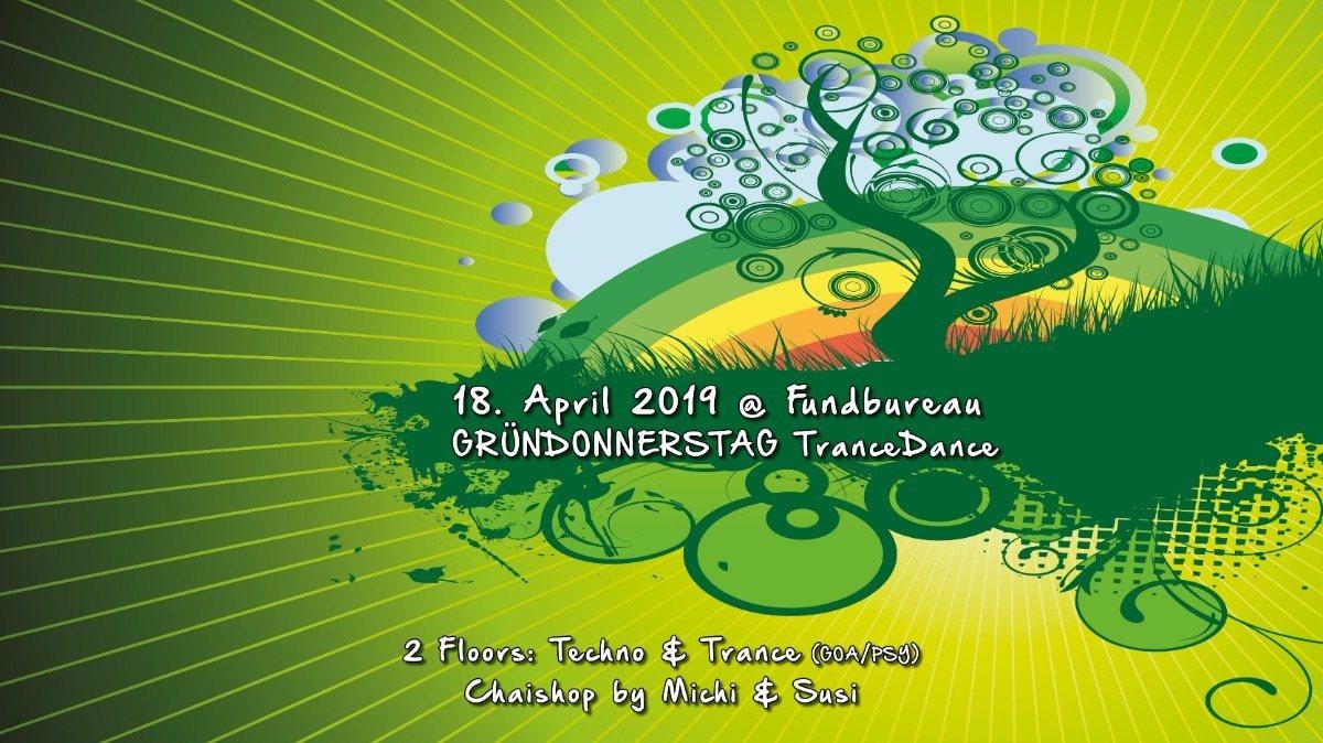Party Flyer Atisha: Gründonnerstag (TranceDance Special) 18 Apr '19, 22:00