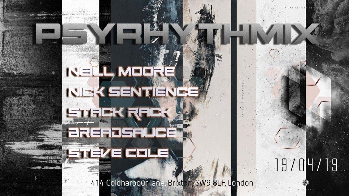 Psyrhythmix: Easter Edition 19 Apr '19, 23:00