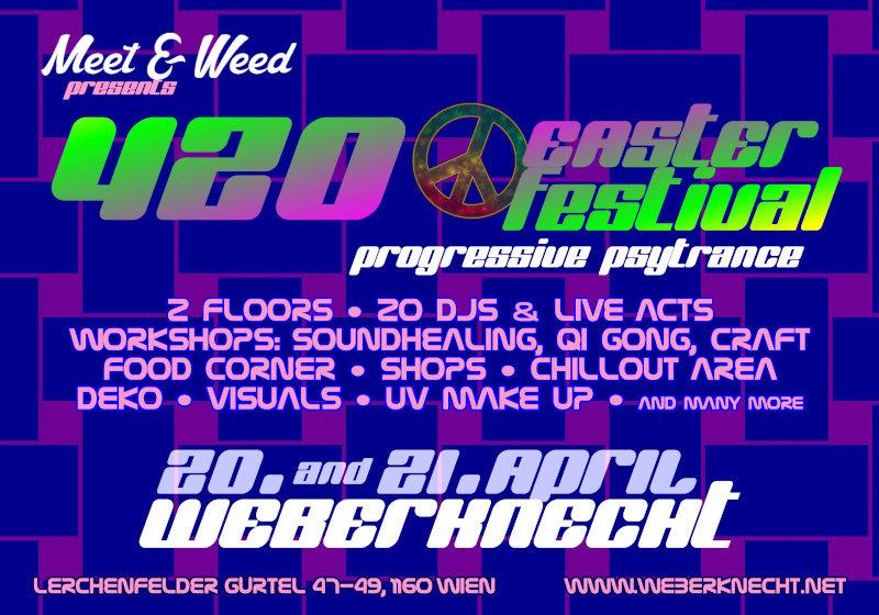 Party Flyer 420 Easter Festtival 20 Apr '19, 19:00