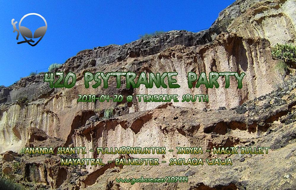 420 Psytrance Party 20 Apr '19, 18:00