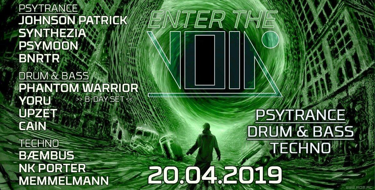 Party Flyer Enter the Void 20 Apr '19, 23:00