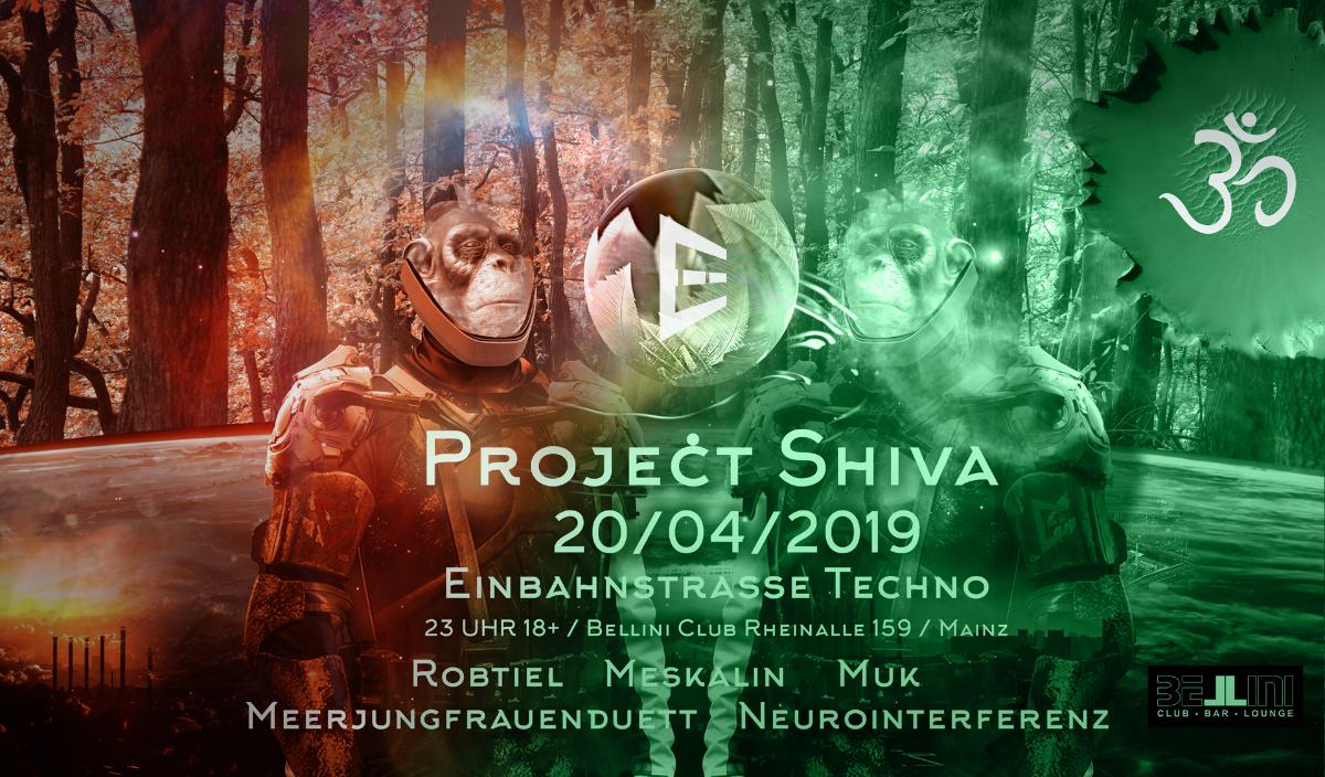 Party Flyer Projekt Shiva 20 Apr '19, 23:00