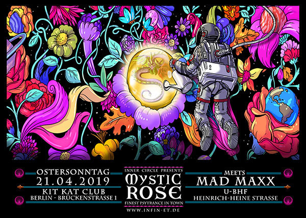 Party Flyer The Mystic Rose meets MAD MAXX 21 Apr '19, 23:00
