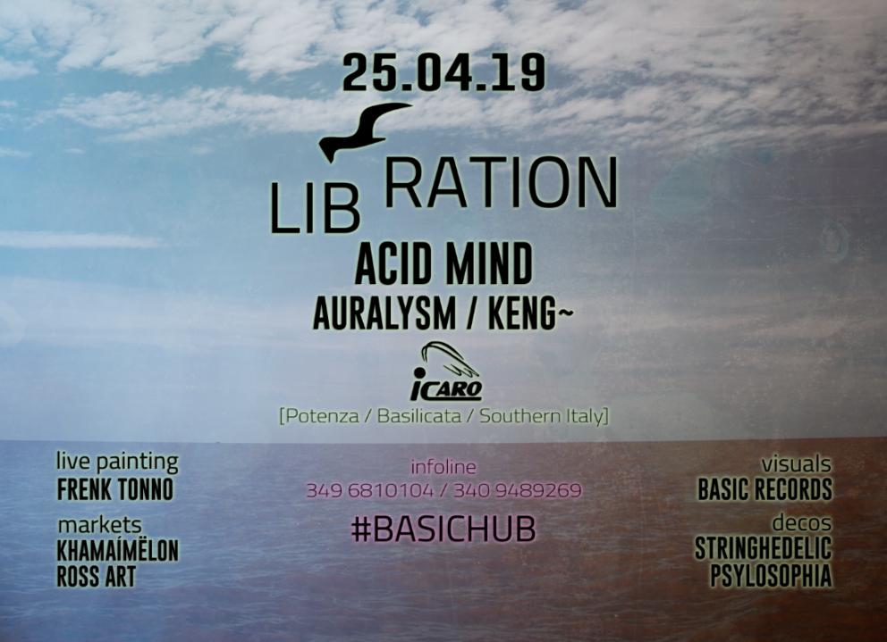 LIBRATION [BASIC Records Liberation Party] 25 Apr '19, 22:00