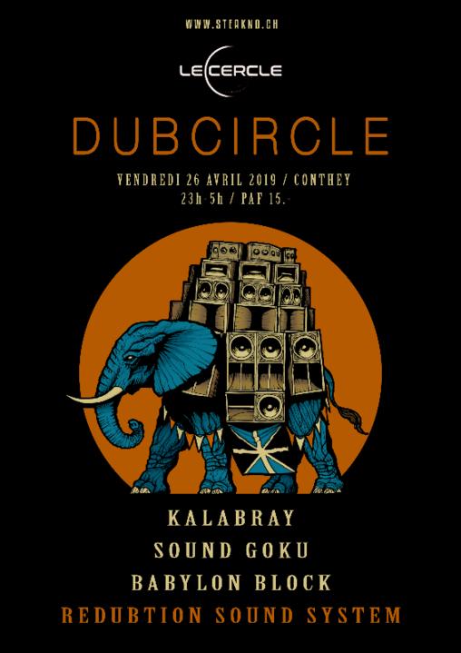 Party Flyer Dubcircle 26 Apr '19, 23:00