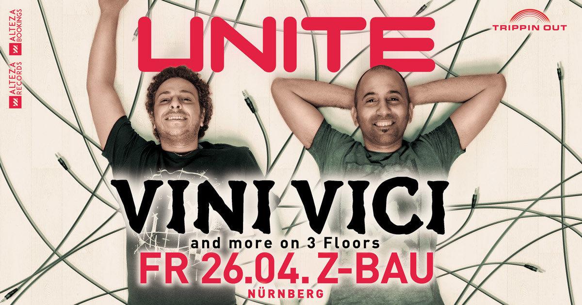 Party Flyer Unite w/ VINI VICI & more 26 Apr '19, 22:00