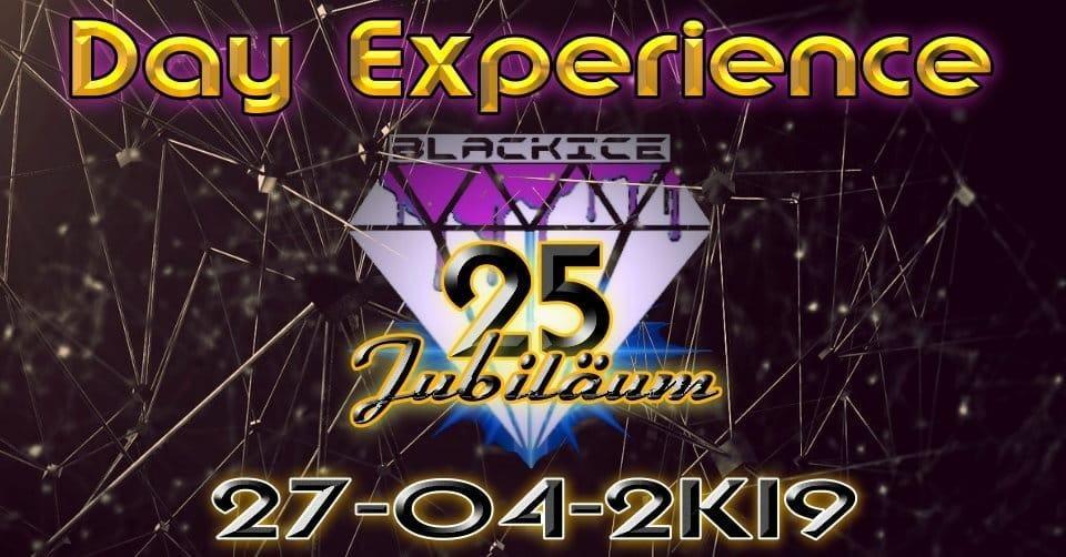 Party Flyer Day Experience 25 -Jubiläum- 27 Apr '19, 23:00