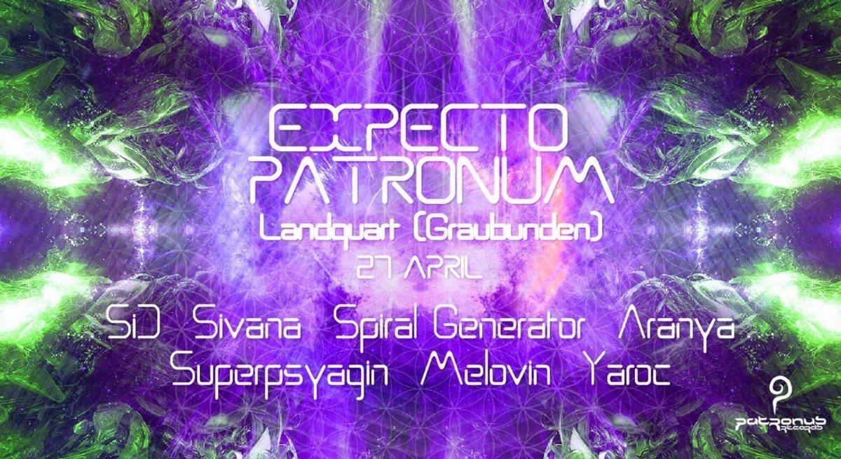 Expecto Patronum 27 Apr '19, 21:00